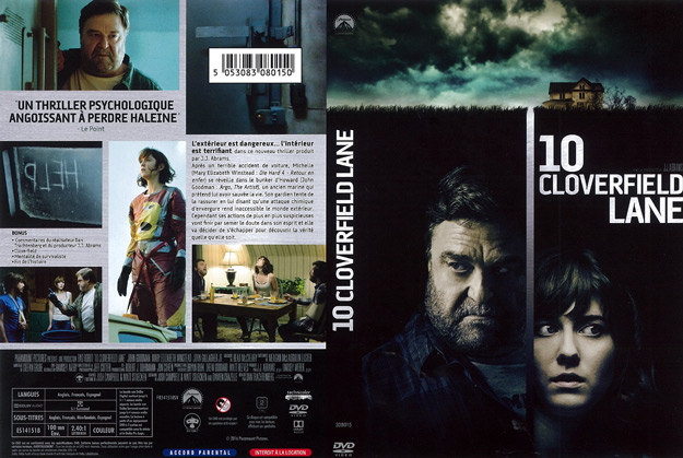 Jaquette DVD 10 cloverfield lane