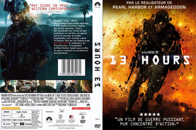 Jaquette DVD 13 hours