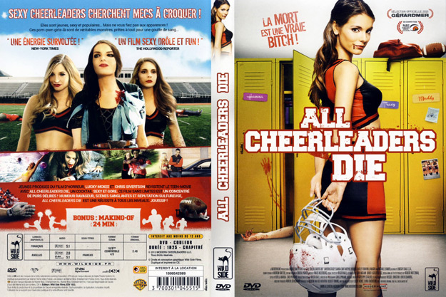 jaquette dvd all cheerleaders die