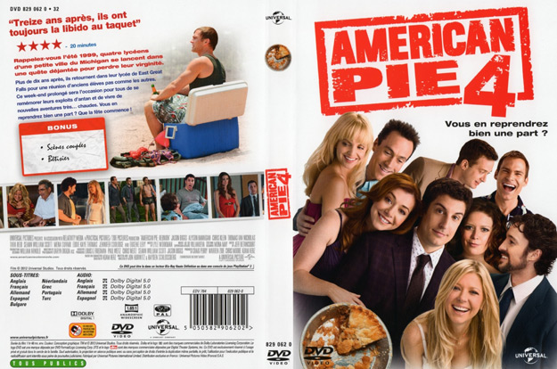 jaquette dvd american pie 4