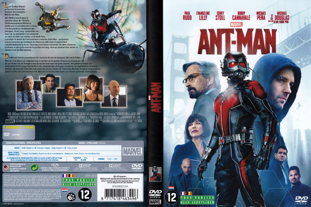 Jaquette DVD ant man