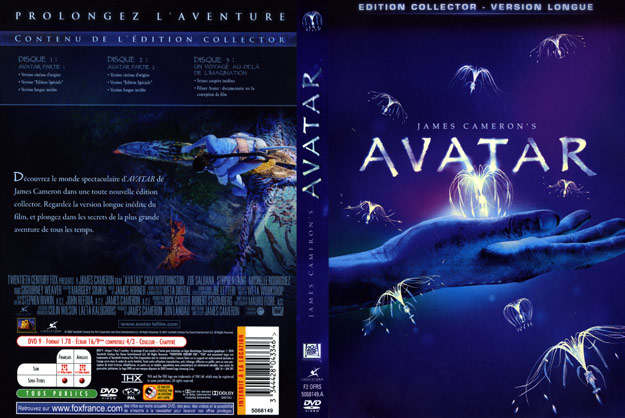 jaquette dvd avatar edition collector