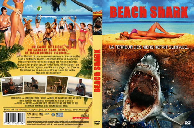 jaquette dvd beach shark