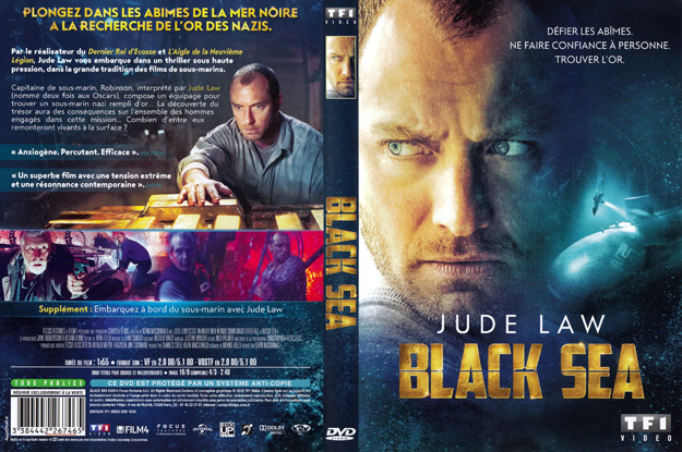 Jaquette DVD black sea