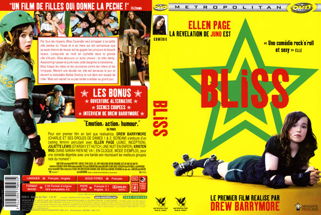 jaquette dvd bliss