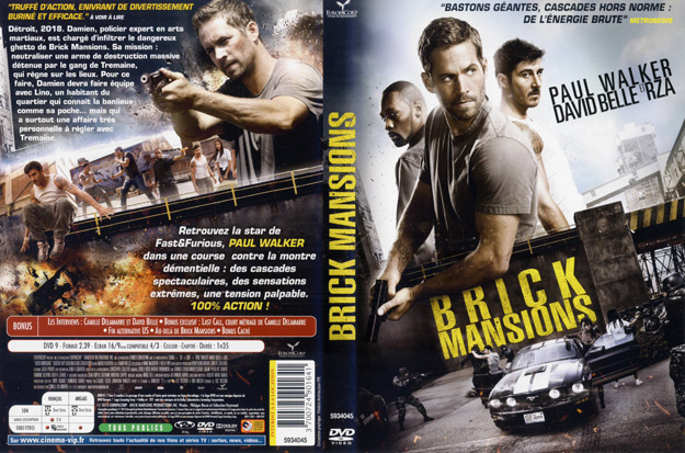 Jaquette DVD brick mansions