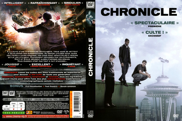 jaquette dvd chronicle