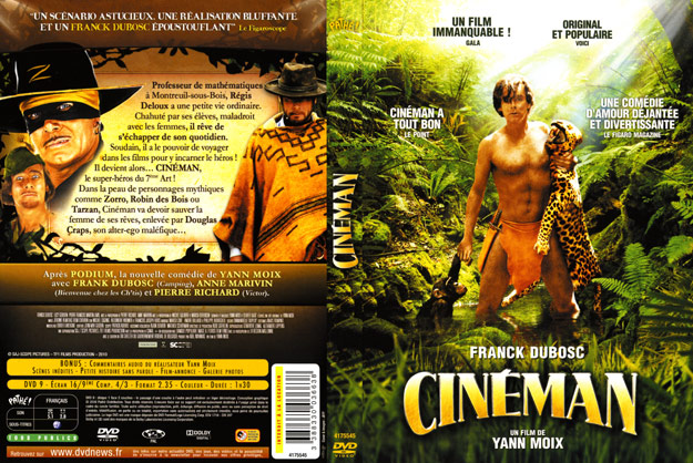 jaquette dvd cineman