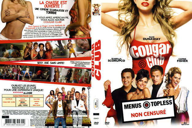 jaquette dvd cougar club