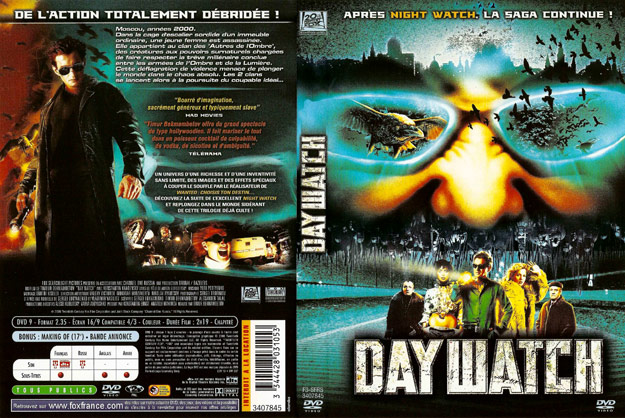 jaquette dvd day watch