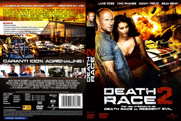 jaquette dvd death race 2