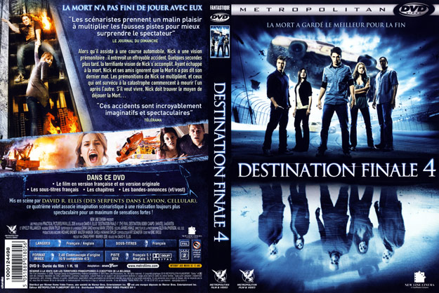 jaquette dvd destination finale 4