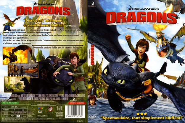 jaquette dvd dragons