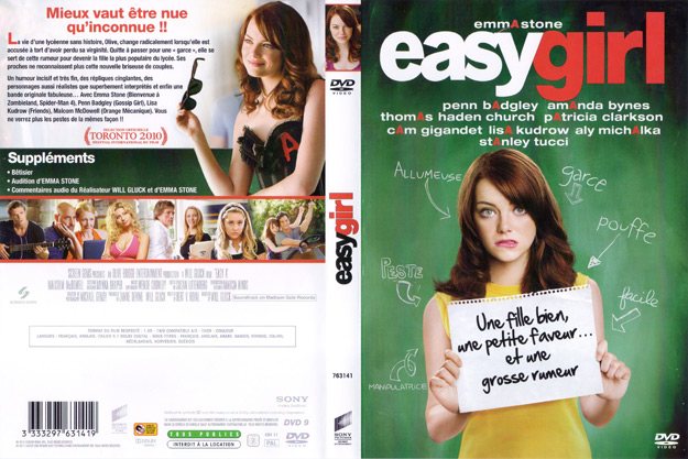 jaquette dvd easy girl
