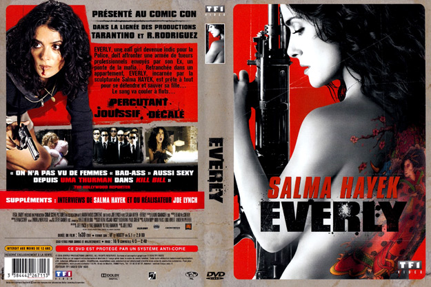 Jaquette DVD everly