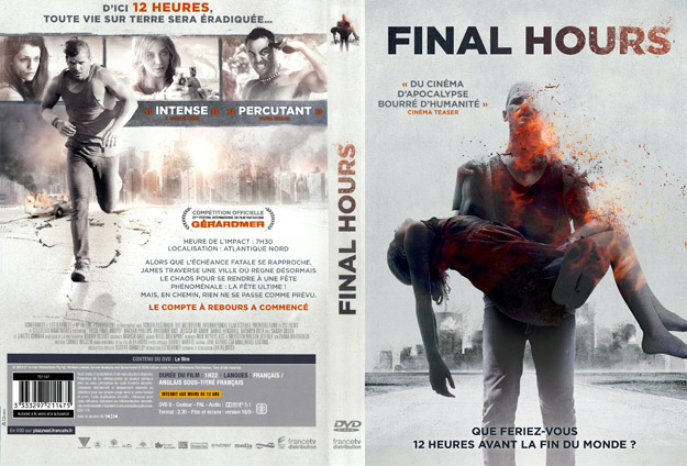 Jaquette DVD final hours