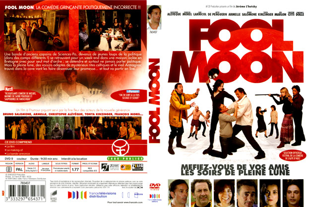 jaquette dvd fool moon