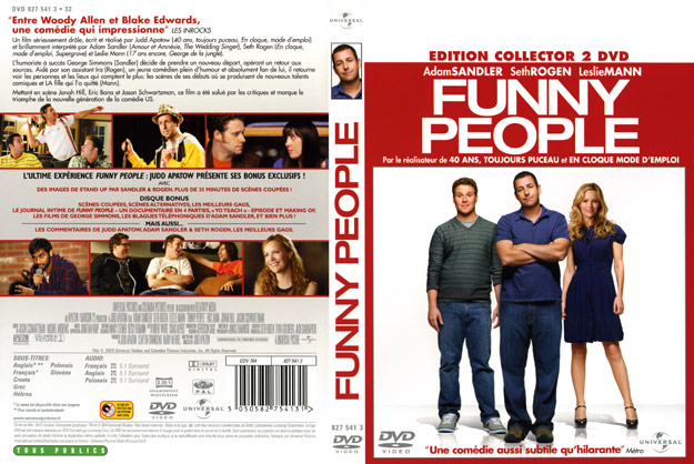 jaquette dvd funny people