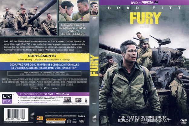 Jaquette DVD fury