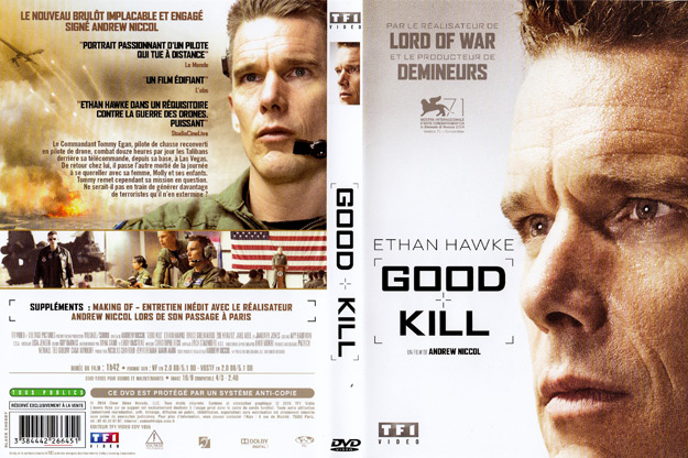 jaquette dvd good kill