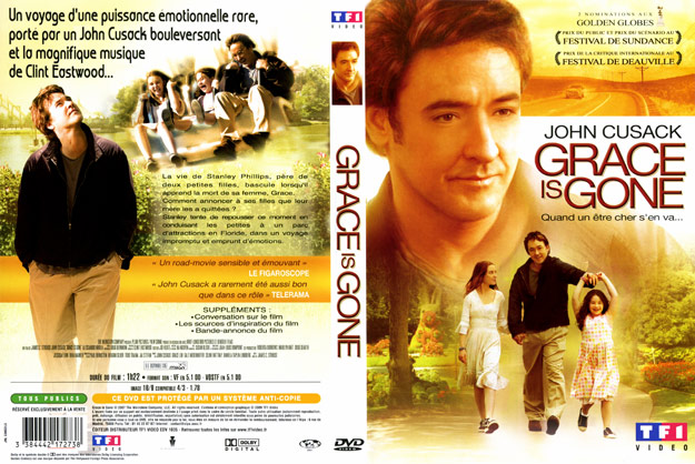jaquette dvd grace is gone