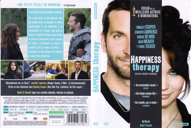 jaquette dvd happiness therapy