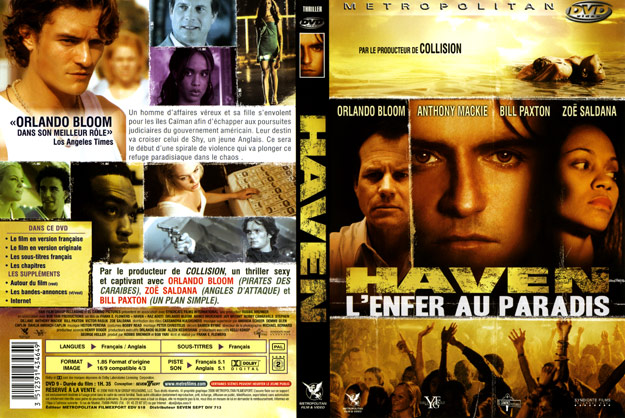jaquette dvd haven