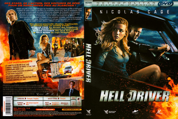 jaquette dvd hell driver