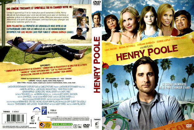 jaquette dvd henry poole