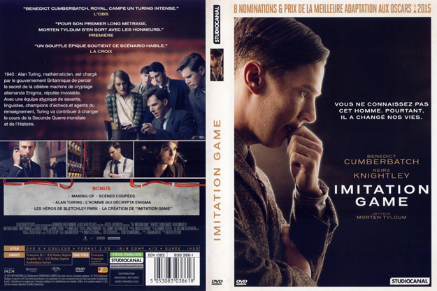 Jaquette DVD imitation game