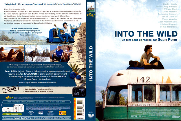 jaquette dvd into the wild