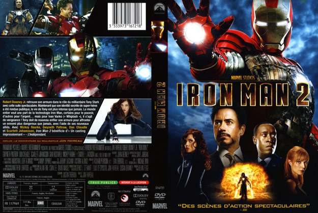 Jaquette dvd iron man 2 - Iron man 2 telecharger ...