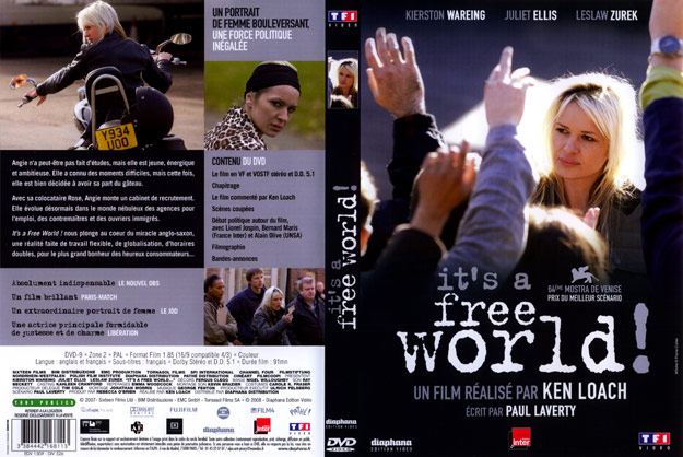 jaquette dvd it s a free world