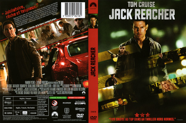 jaquette dvd jack reacher