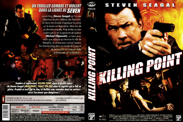 jaquette dvd killing point