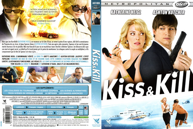 jaquette dvd kiss and kill