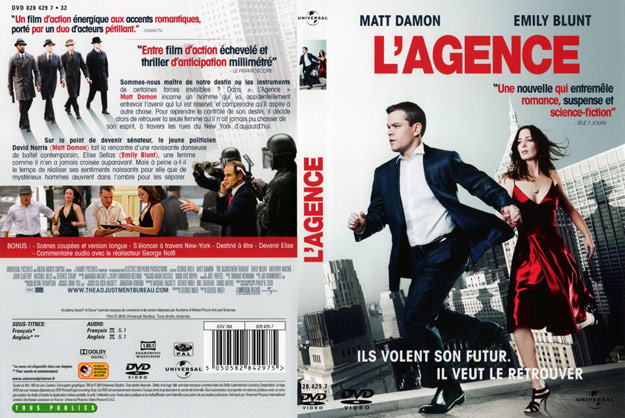 jaquette dvd l agence