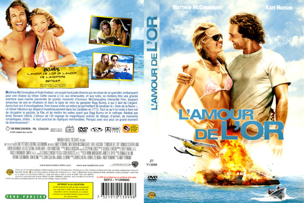 jaquette dvd l amour de l or