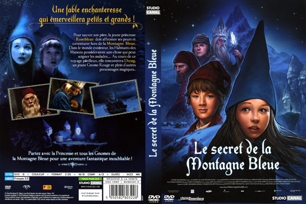 jaquette dvd le secret de la montagne bleue