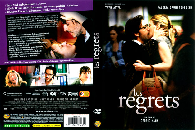 jaquette dvd les regrets