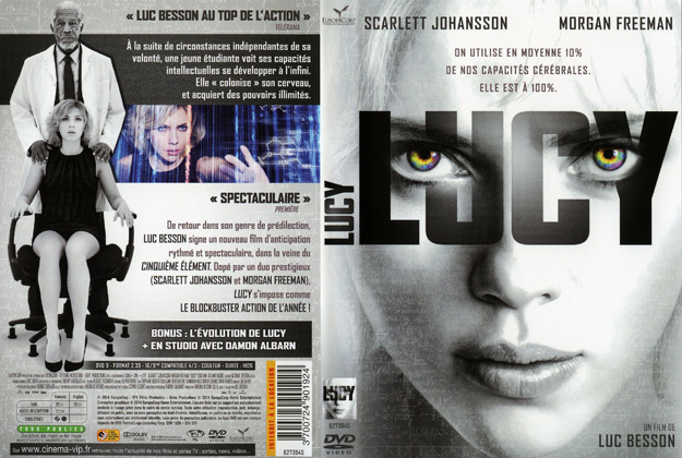jaquette dvd lucy