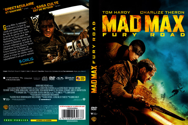 Jaquette DVD mad max fury road