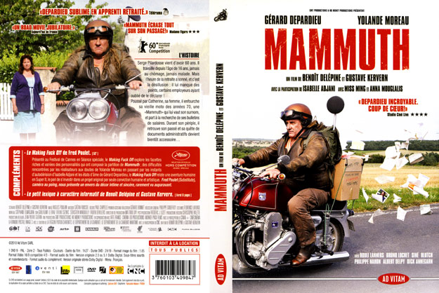 jaquette dvd mammuth