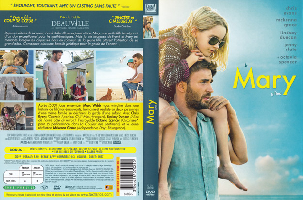 jaquette dvd mary