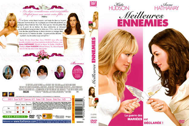 jaquette dvd meilleures ennemies