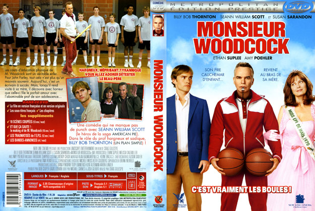 jaquette dvd monsieur woodcock