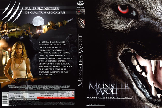 jaquette dvd monster wolf