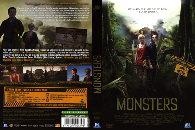 jaquette dvd monsters