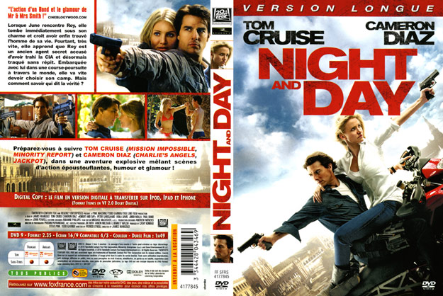jaquette dvd night and day