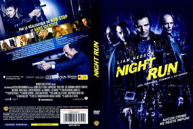 jaquette dvd night run